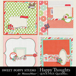 Happy Thoughts QUICK PAGE QuickMix-$3.49 (Sweet Poppy Studio)