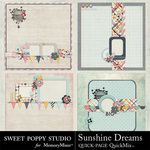 Sunshine Dreams QUICK PAGE QuickMix-$3.49 (Sweet Poppy Studio)