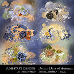 Denim Days of Autumn Scatter Pack-$1.99 (Jumpstart Designs)