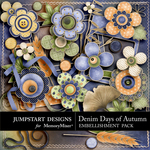 Denim Days of Autumn Add On Embellishment Pack-$3.99 (Jumpstart Designs)