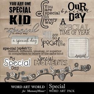 Special wordart medium