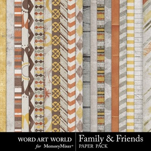 Family and friends pp medium
