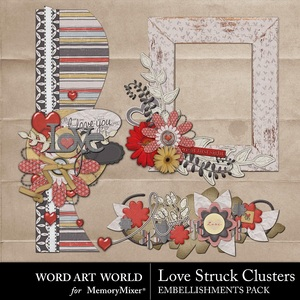 Love struck clusters medium