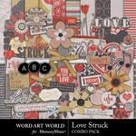 Love Stuck Combo Pack-$5.49 (Word Art World)