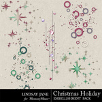 Christmas Holiday Scatterz Pack-$1.99 (Lindsay Jane)