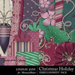 Christmas holiday borders 2 small