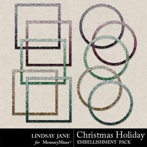 Christmas holiday frames medium