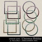 Christmas Holiday Frame Pack-$1.99 (Lindsay Jane)