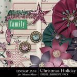 Christmas holiday emb 2 small