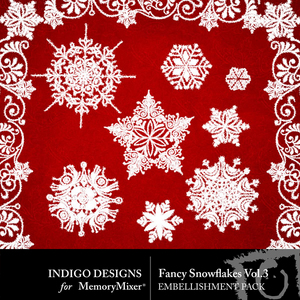 Fancy snowflakes vol 3 medium