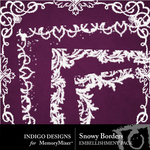 Snowy Border Pack-$2.49 (Indigo Designs)
