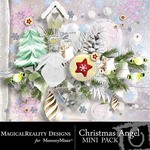 Christmas Angel Mini Pack-$1.75 (MagicalReality Designs)