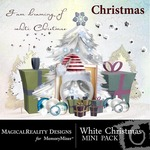 White Christmas Mini Pack-$2.99 (MagicalReality Designs)
