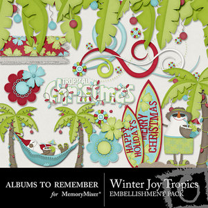 Winter joy atr tropical emb medium