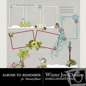 Winter joy atr clusters medium