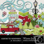 Winter Joy ATR Embellishment Pack-$3.00 (Albums to Remember)