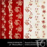 Seasons Greetings ID Border Pack-$1.99 (Indigo Designs)