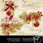 Seasons Greetings ID Cluster Pack-$1.99 (Indigo Designs)