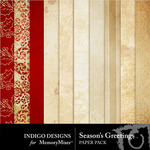 Seasons Greetings ID Paper Pack-$3.99 (Indigo Designs)