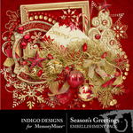 Seasons Greetings ID Embellishment Pack-$2.99 (Indigo Designs)