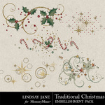 Traditional Christmas LJ Scatterz Pack-$1.99 (Lindsay Jane)