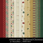 Traditional Christmas LJ Paper Pack-$3.99 (Lindsay Jane)