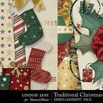 Traditional christmas lj borders 2 small