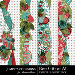 Best Gift of All Border Pack-$2.99 (Jumpstart Designs)