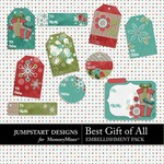 Best Gift of All Tag Pack-$2.49 (Jumpstart Designs)
