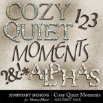 Cozy Quiet Moments Alphabet Pack-$3.49 (Jumpstart Designs)