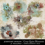 Cozy Quiet Moments Scatter Pack-$2.49 (Jumpstart Designs)