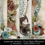 Cozy Quiet Moments Border Pack-$2.49 (Jumpstart Designs)