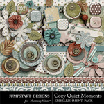 Cozy Quiet Moments ADD ON Embellishment Pack-$3.99 (Jumpstart Designs)