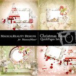 Christmas Rose QUICK PAGE QuickMix 3-$1.75 (MagicalReality Designs)