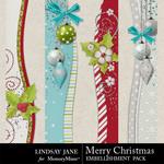 Merry Christmas LJ Border Pack-$1.99 (Lindsay Jane)