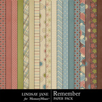 Remember LJ Paper Pack-$3.99 (Lindsay Jane)