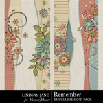 Remember LJ Border Pack-$1.99 (Lindsay Jane)
