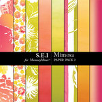 Mimosa Paper Pack 2-$3.99 (s.e.i)
