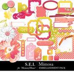 Mimosa Embellishment Pack-$2.99 (s.e.i)