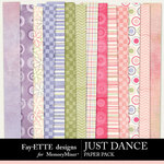 Just Dance Paper Pack-$3.99 (Fayette Designs)