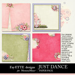 Just Dance Short Stack-$2.99 (Fayette Designs)