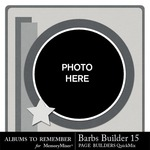 Barbs Page Builder QuickMix Set 15-$4.99 (Albums to Remember)