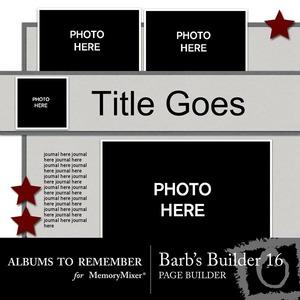 Barbs page builder qm set 16 medium