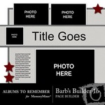 Barbs Page Builder QuickMix Set 16-$4.99 (Albums to Remember)