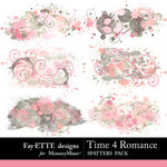 Time 4 Romance Spatters-$2.49 (Ettes and Company by Fayette)