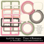Time 4 Romance Frames-$2.49 (Ettes and Company by Fayette)