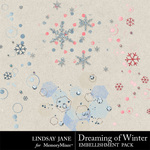 Dreaming of Winter Scatterz Pack-$1.99 (Lindsay Jane)