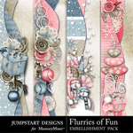 Flurries of Fun Border Pack-$2.49 (Jumpstart Designs)