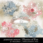 Flurries of Fun Scatterz Pack-$2.49 (Jumpstart Designs)