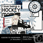 2013 January Combo Pack-$4.49 (Albums to Remember)